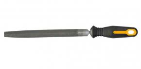 Напильник по металлу полукруглый 200мм  двухкомпонентная ручка Topex