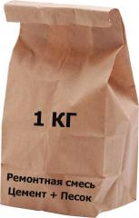 Смесь цементно-песчаная    1 кг