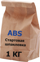 Шпатлевка гипсовая стартовая ABS Siva  1 кг