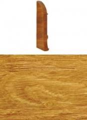 Заглушка для плинтуса с кабельканалом левая (дуб комлевой)
