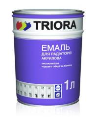 Эмаль для радиаторов акриловая Triora Белая  0,9 кг