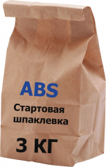 Шпатлевка гипсовая стартовая ABS Siva  3 кг