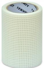 Лента серпянка 100 мм, 10м самоклеющаяся 'Favorit'