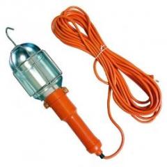 Светильник гаражный (переноска) оранж 250Вт 10м LMA326