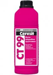 Грунтовка Ceresit CT99  1л  глубокого проникновения  антимикробная