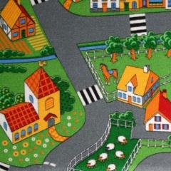 Ковролин AW (Бельгия) серия Village Little Village Print дизайн 90 (1м2) ширина (4м)