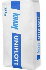 Шпатлевка гипсовая Knauf Uniflott  25 кг высокопрочная