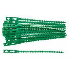 Подвязка ремешки 13см, 50шт зеленые  Palisad 644948