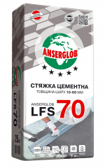 Анцерглоб стяжка цементная LFS-70, 25кг (л)