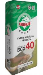 Клей-армирование для мин.ваты и пенополистирола Anserglob ВСХ-40 25 кг