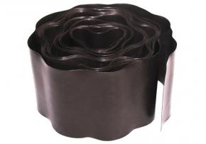 Бордюр газонный 10см * 9м коричневый  Verano 71-843