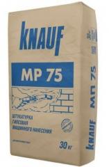 Шпатлевка гипсовая Knauf МР 75 30 кг