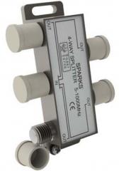 Сплиттер (делитель) с фильтром 1-4