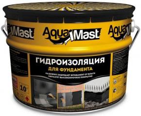 Мастика битумная  10кг Фундамент Аквамаст Технониколь