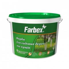 Краска садовая для деревьев и кустарников Farbex  4 кг