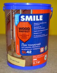 Лак Акриловый Smile SL-42 матовый 0.7кг