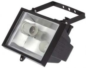 Прожектор 1000Вт 2*Е27 черный 'BUKO'