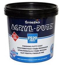 Шпатлевка готовая акриловая финишная Sniezka Akryl-Putz Finish  8 кг