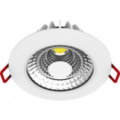 Светильник светодиодный  встраиваемый   8Вт  220В 4100K Maxus 1-SDL-006-01 (гарантия пять лет)