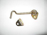 Крючек дверной 8х100 цинк