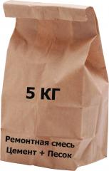 Смесь цементно-песчаная    5 кг