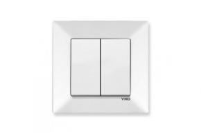 Viko Meridian белый Выключатель 2-й