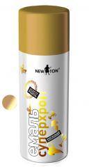 Емаль Супер Хром Золото 150 мл NewTon (аерозоль)
