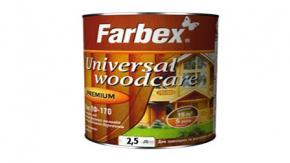Лак Для внутренних и наружных работ ПФ-170 Farbex глянцевый  2,5 л