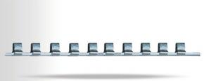 Планка крепления головок 1/2 на 10 шт., 260мм Intertool ET-6007 NONAME