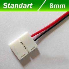Конектор для светодиодной ленты OEM 4 8мм joints wire