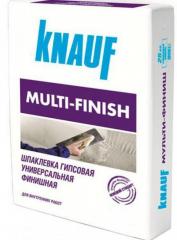Шпатлевка гипсовая Knauf Multifinish 25 кг