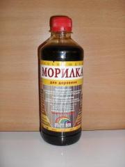 Морилка спиртовая Красное коричневая  0,4 л  СтартНов